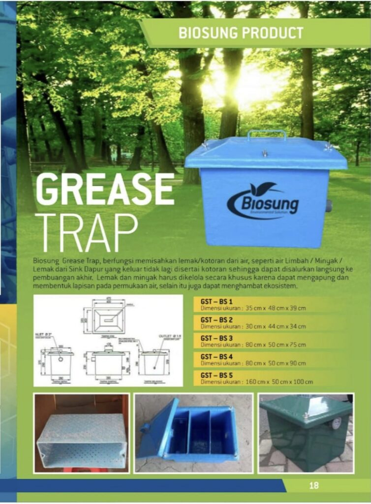 Brosur Grease Trap Biogreen