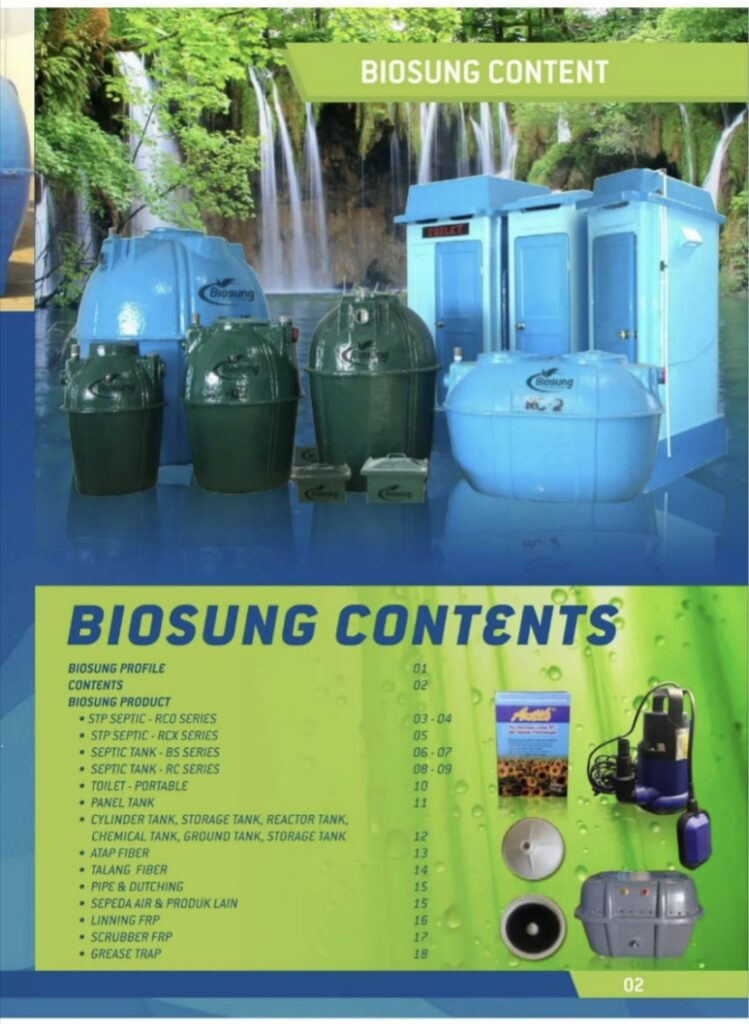 Brosur Product Biogreen