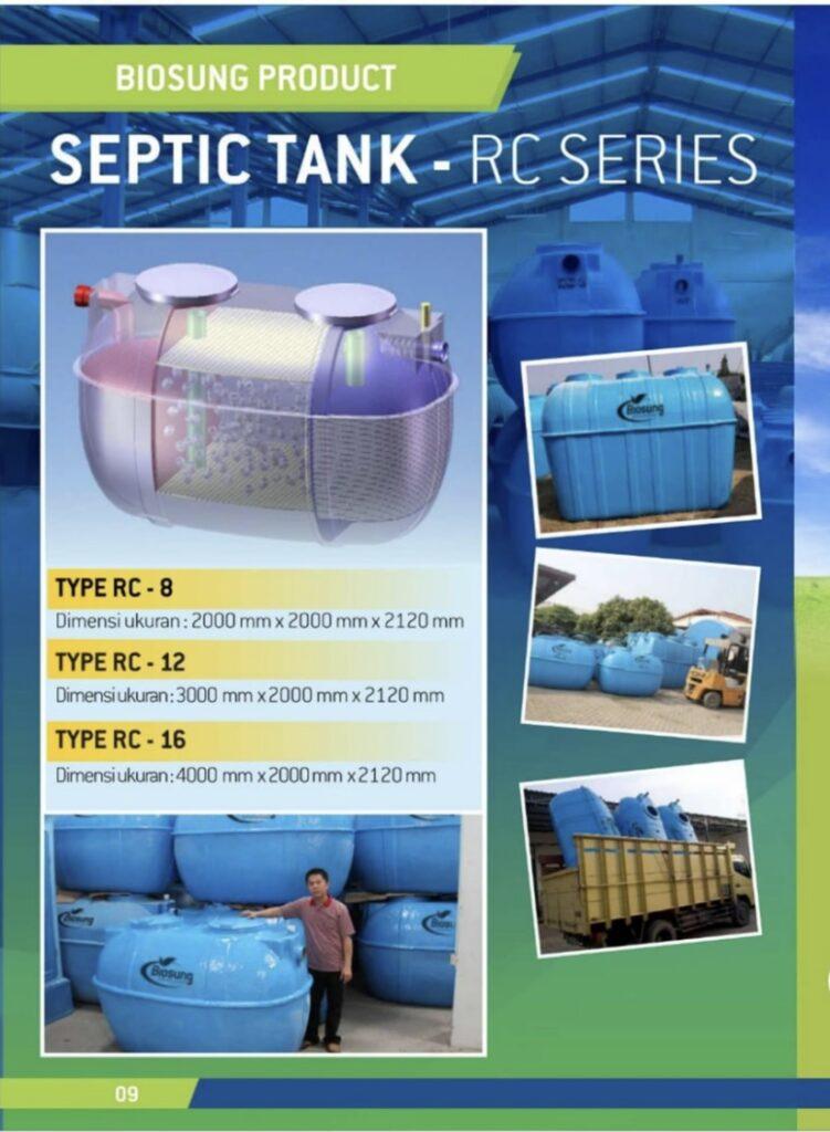 Brosur Septic Tank RC Biosung