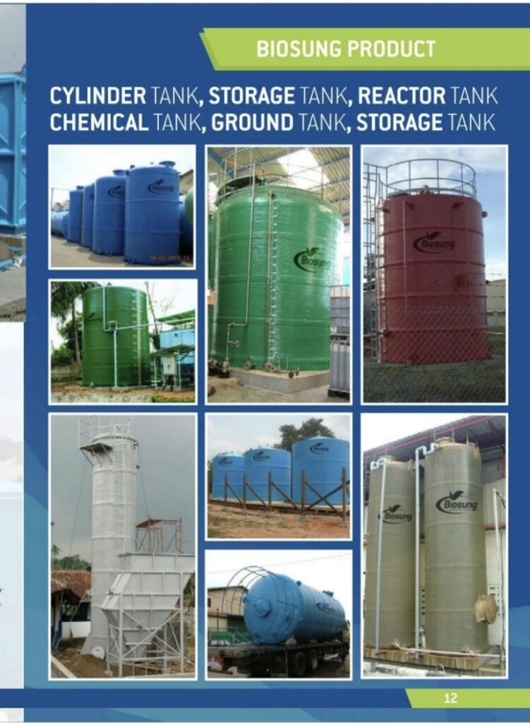 Brosur Storage tank, Chemical Tank Biogreen